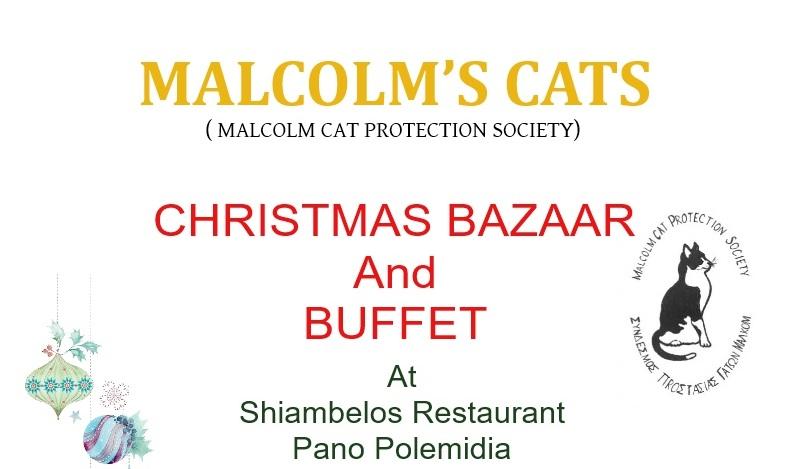 2017 christmas bazaar buffet malcolm cat protection society