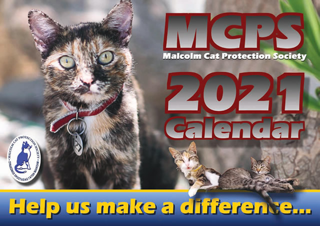 2021 Calendars Malcolm Cat Protection Society